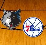 Timberwolves-76ers