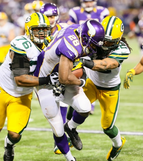 Adrian Peterson vs. Green Bay 12-30-12