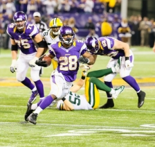 Adrian Peterson vs. Packers 12-30-12