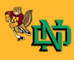 Gophers North Dakota logo