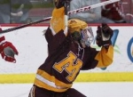 Hannah Brandt of the Gophers women's hockey team