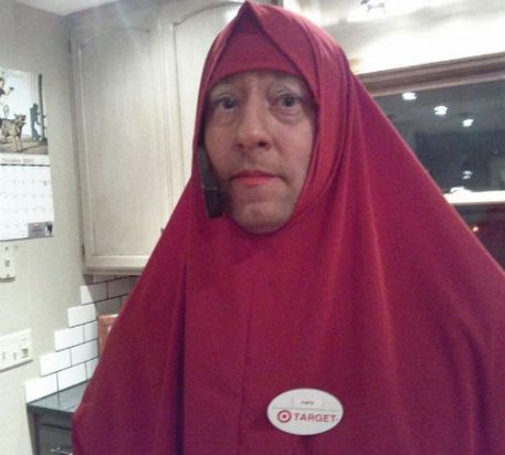 St Paul officer dressed as muslim woman