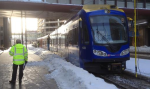 light rail train mishap