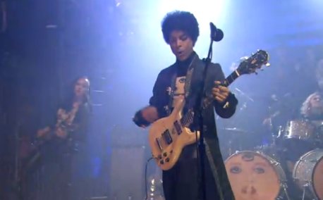 Prince on 'Late Night with Jimmy Fallon' (screen grab -- NBC)