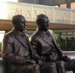 Mayo Clinic statue