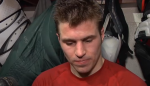 Parise after Flames game