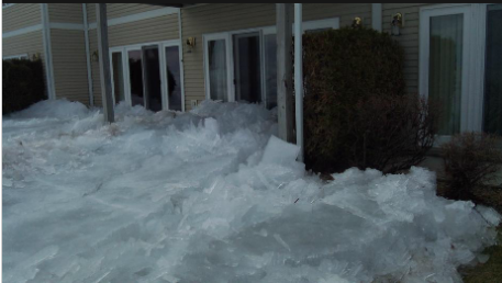 Ice Charging Into Northern Minn. Homes Caught on Video - KSTP TV - Minneapolis and St. Paul