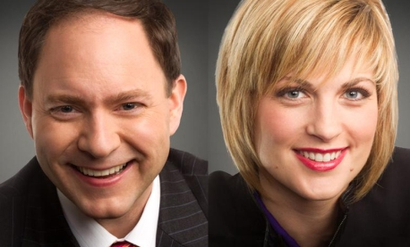 Jason DeRusha, Jamie Yuccas (photos -- WCCO-TV)