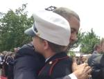 President Barack Obama, Ashton DeFusco (Photo -- Ashton DeFusco via Farmington Independent)