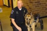 roseville police dog