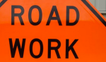 road work sign construction