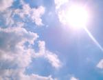 sunny, hot