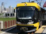 Mpls. light rail train