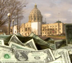 Minnesota Capitol and money