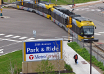 Transit, park and ride