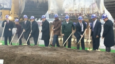 vikes breaking ground
