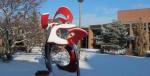 umd minnesota duluth campus snow