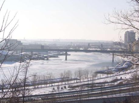 Mississippi River St. Paul