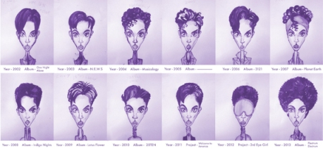 Prince Hair Chart (image -- Twitter, Gary Card)