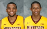 Andre Hollins, DeAndre Mathieu (photo: GopherSports.com)