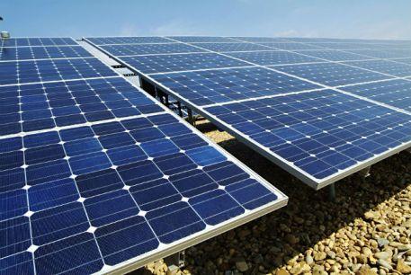 Solar panels in Spain.