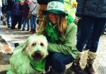 2014 St. Patrick's Day parade in St. Paul.