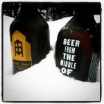 Growlers from Canal Park Brewing in Duluth.