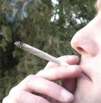 marijuana joint smoking green