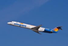 Allegiant Air flight