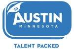 Austin talent packed logo