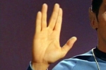 Spock sign Live Long and Prosper (photo -- CBS Television, Paramount)