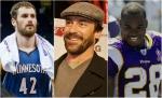 love-hamm-peterson trio all star celebrity softball