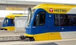 Metro Transit light rail trains