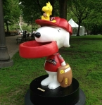 snoopy woodstock twins all star game statue crop