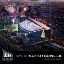 Vikings Stadium Super Bowl