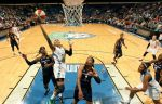 Seimone Augustus scores against the Indiana Fever on Sunday June 22, 2014 at Target Center.