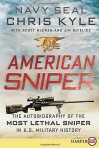 "The book ""American Sniper,"" by Chris Kyle"