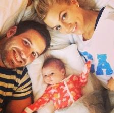 Christian, Samantha and Bowden Ponder (photo -- Instagram)