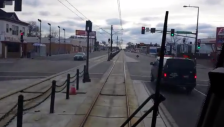 green line metro transit video still