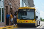 A bus that serves the Red Line BRT in the southern Twin Cities metro area.