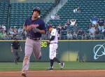 Sam Fuld Home Run trot (Screen Shot) SAFE 2014-07-09 at 12.02.50 AM