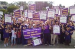 SEIU health care workers rally