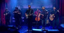 Trampled by Turtles Letterman (screengrab -- CBS)