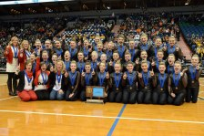 bombers dance team (from cannon falls bomber dance team facebook)