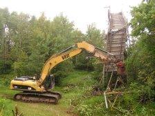 demolition of Big Chester