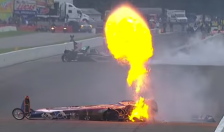 Drag racing fireball (You Tube screen shot) SAFE 2014-08-20 at 9.36.31 PM
