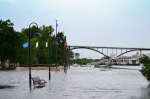 harriet island flooding summer 2014
