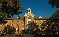 Lawrence Hall on the campus of St. Cloud State University.