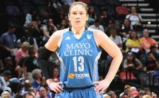 Lindsey Whalen on Aug. 23, 2014 vs. the San Antonio Stars.