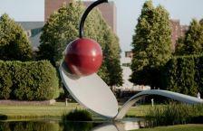 Minneapolis Sculpture Garden (photo -- Walker Art Center)